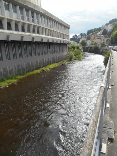 La Corrèze, à Tulle.JPG