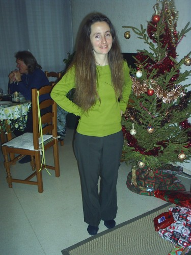 Sonia en vert.JPG