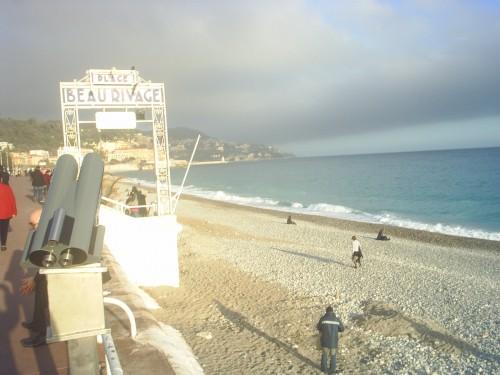 La plage vue du train.JPG